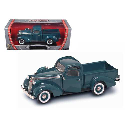 1937 Studebaker Express Pickup Truck Green 1/18 Diecast Model Car by Road Signature