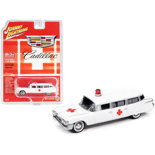 1959 Cadillac Ambulance White