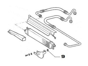 Speed Clip (Oil Cooler) Integrale & Evolution - AE CAR - 2