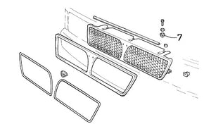 Clip (Various Interior/Front Grille) Integrale