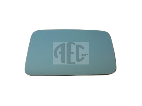 Blue tint replacement mirror glass with self-adhesive fitting, Position: Left or Right for Lancia Delta HF Turbo, Integrale & Evolution (1986-1995)