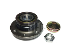 Rear wheel hub bearing for Abarth 500 - 500C 1.4 Turbo (2008-2015), Active sensor bearing, O.E. Part Number: Hub 51754193, Kit 71737189, 71769738.