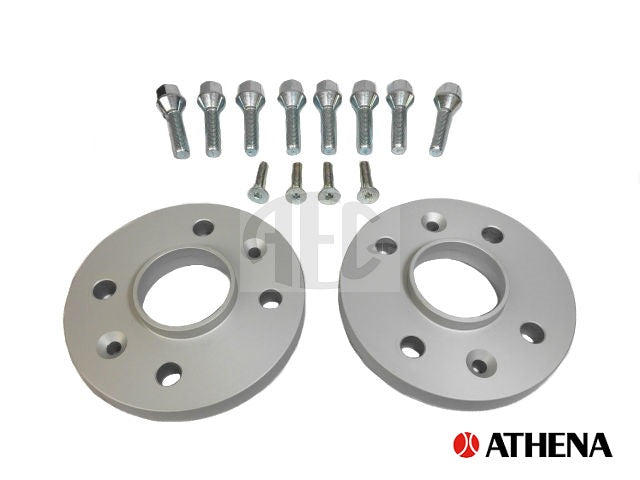 Hub Centric Wheel Spacers 16mm & Bolts Axle set | Abarth 500 595