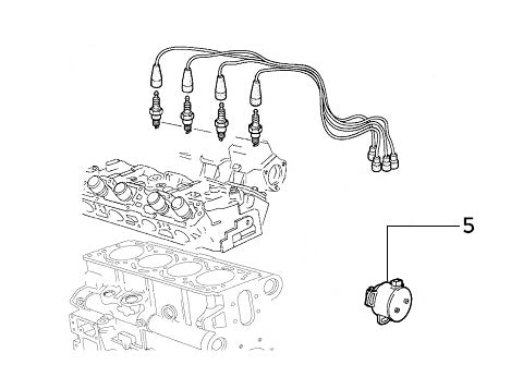 Camshaft Pick Up Sensor Evolution (Evo II Cat)