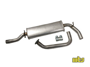 Lancia Delta 1600 HF Turbo 1600 (1986-1992) exhaust centre middle box pipe O.E. Part Number: 82413918 Products made in Italy