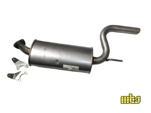 Lancia Delta HF Turbo 1600 (1986-1992) rear exhaust box pipe O.E. Part Number: 82413201 Products made in Italy
