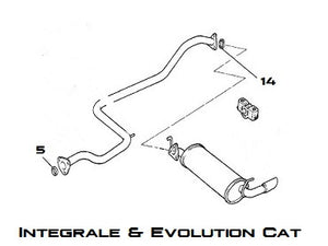 Exhaust Seal Integrale & Evolution - AE CAR - 2