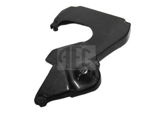 Cam belt cover reproduced in carbon fibre Lancia Delta HF Integrale & Evolution 2.0 16V (1989-1995) O.E. part number 7648224.