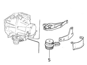 Powerflex Bush (Front Gearbox/Engine Mount) Integrale
