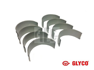 Big End (con rod) bearing set Lancia Delta Integrale & Evolution 2.0 16V (1989-1995) O.E. Part Number: 71719060, 7729451, 7729452. Products by Glyco. engine bearing set available in standard, +0.25mm & +0.50mm.