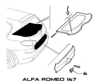 car alfa romeo 147 car repair manuals and wiring diagrams. Black Bedroom Furniture Sets. Home Design Ideas