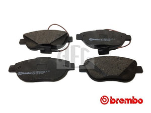 Front Brake Pads Set for Abarth 500 - 500C 1.4 Turbo, Brand: Brembo, O.E. Part Number: 77363958, 77365113, 77365468. Brembo P23137