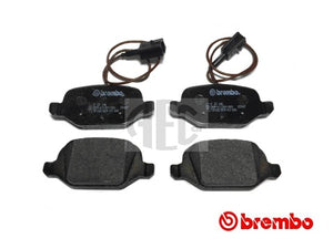 Brake Pad Set Rear | Abarth 500 595 695