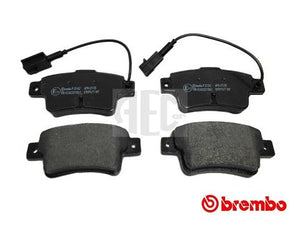 Brembo rear brake pads Abarth Punto. O.E. Part Number: 77365464, 77365886.