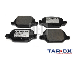 Brake Pad Set Rear Tarox Strada | Abarth 500 595 695