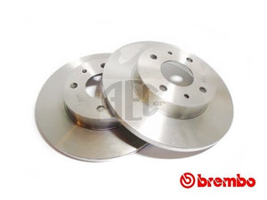 Brake Disc Rear-Axle Pair | Alfa Romeo 155 Q4