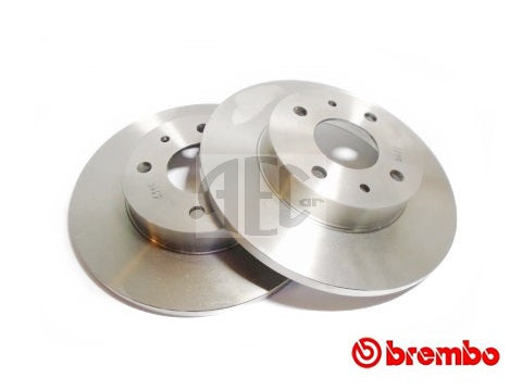 Brake Disc (Rear-Axle Pair) Abarth 500