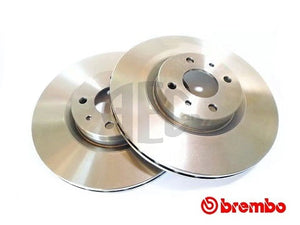 Brake Disc Front-Axle Pair | Abarth 500 595