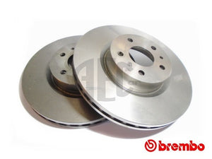 Brake Disc (Front-Axle Pair) Evolution