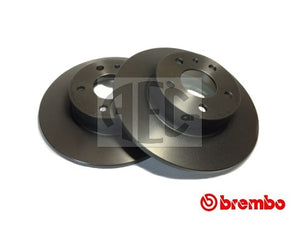 Brake Disc Rear-Axle Pair | Evolution