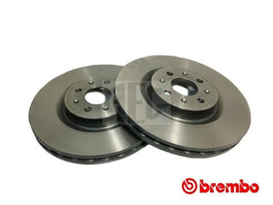 Brembo front brake discs Abarth Punto. O.E. Part Number: 51778054, 51822457.