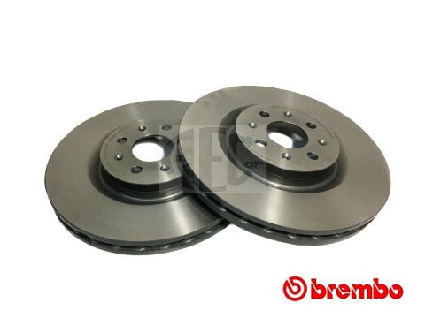 Brake Disc Front-Axle Pair | Abarth Punto