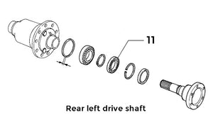Bearing Front/Rear Drive Shaft | Integrale