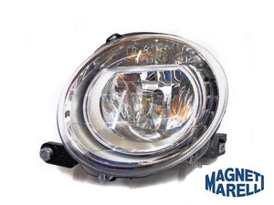 Headlamp (Left) Abarth 500