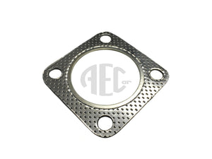 Exhaust down pipe to turbo elbow gasket for Lancia Delta Integrale & Evolution (1986-1993) O.E. Part Number: 82473210. Products made in Italy