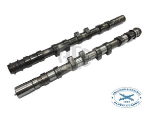 Colombo & Bariani Performance Camshaft set for Integrale & Evolution 2.0 16V, SKU: LD16.SM1, Application: Fast Road Medium. Increased engine performance, High-quality steel billet with heat treatment for long lifetime, This profile provides good middle range torque and power. Made in Italy by Colombo & Bariani