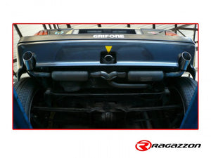 Ragazzon sports rear exhaust Lancia Delta HF Integrale 4WD