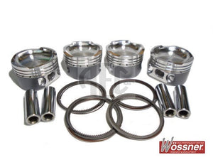 Forged Piston Set Abarth 500 595 1.4 16V Turbo. OE Bore Size 72mm. Bore sizes available: 72mm, 72.5mm, 73mm, Brand: Wossner