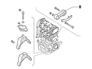 Engine Mount (Lower, Rear) Abarth 500 595