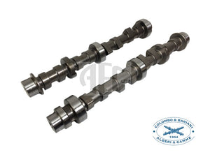 Colombo & Bariani performance camshaft set Abarth 500 595 1.4 Turbo (2008-2015) Brand: Colombo & Bariani, SKU: FF16T.SM1, Increased engine performance, High-quality steel billet with heat treatment for long lifetime, This profile provides good middle range torque and power. Made in Italy by Colombo & Bariani.