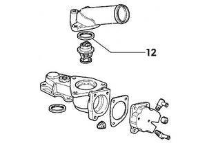 Thermostat Seal Gasket | Integrale 8V
