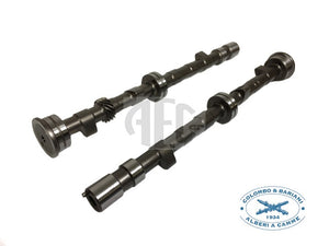 Colombo & Bariani Performance Camshaft set for Fiat & Lancia Twin Cam (Race Medium) FB.RM1, Application: Race Medium. Increased engine performance, High-quality steel billet with heat treatment for long lifetime, This profile provides excellent upper-end power for race purposes. Made in Italy by Colombo & Bariani.