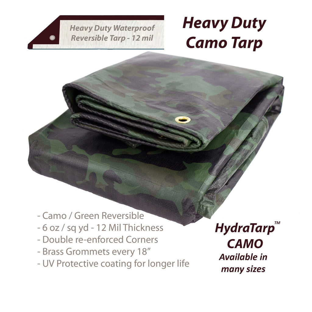 HydraTarp Camo Tarp by Watershed Innovations