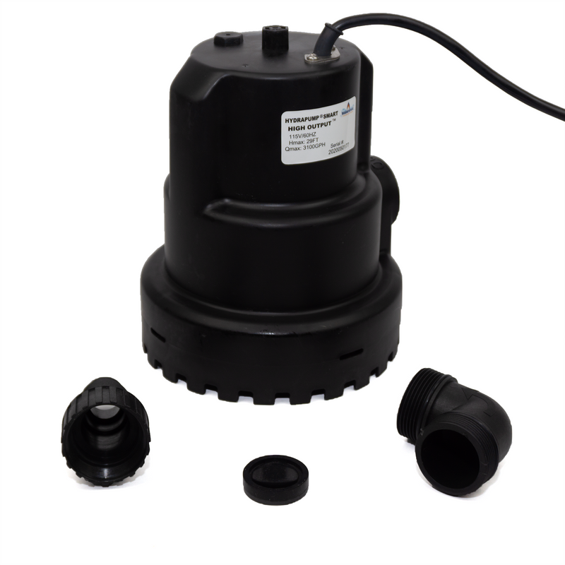 HydraPump Smart HO with adapters unassembled
