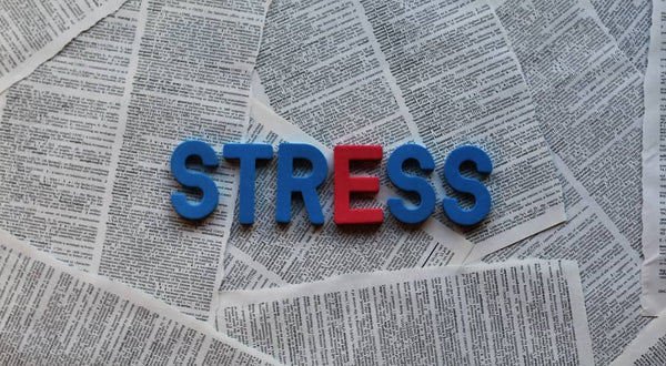 """stress with a red """"e"""""""