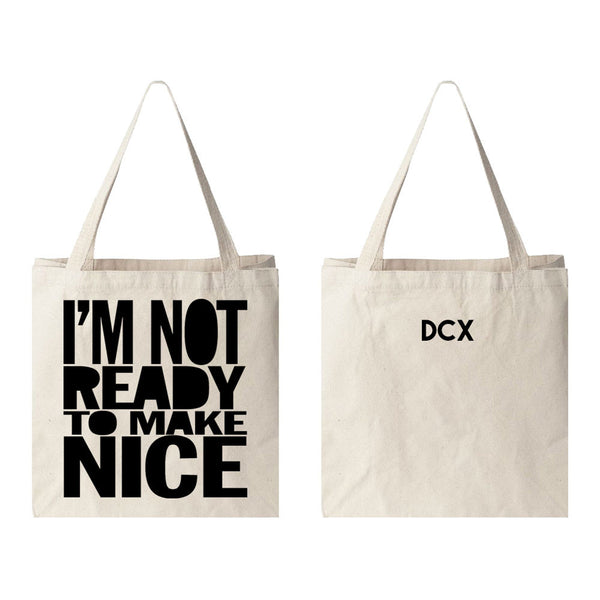 """Not Ready"" Tote Bag"