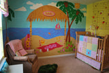 Ilana's Beach Shack Wall Mural
