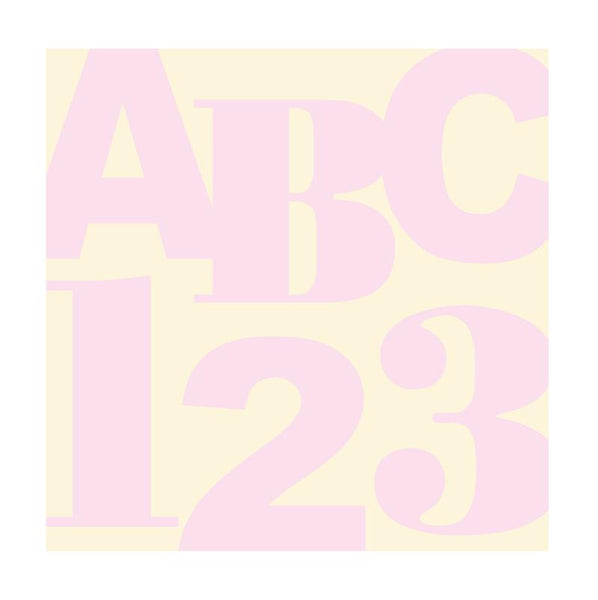 ABC 123 Squared Wall Mural