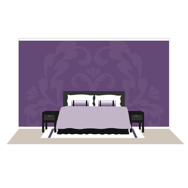 Damask One Wall Mural