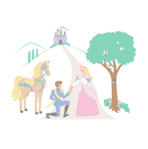 Happily Ever After Paint-by-Number Mural