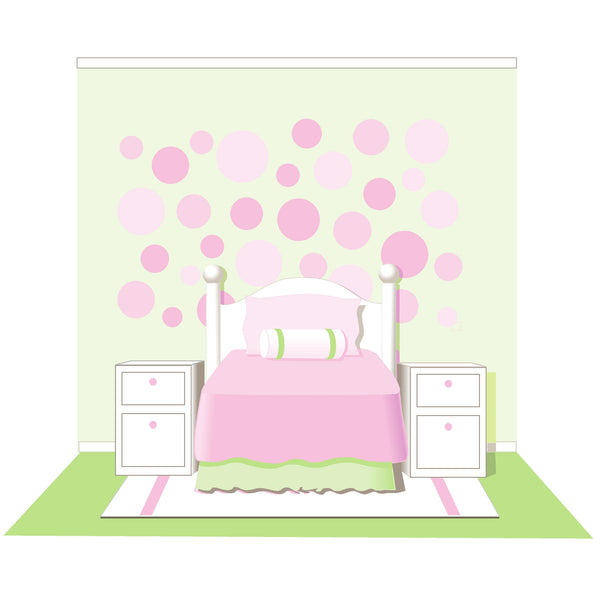 Lots of Dots Paint-by-Number Wall Mural