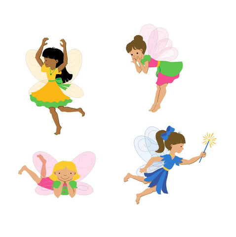 Fairy Fun Mini Paint-by-Number Wall Mural