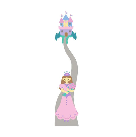 Princess in Pink Mini Wall Mural