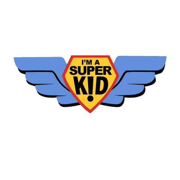 Mini SuperKid Paint-by-Number Wall Mural