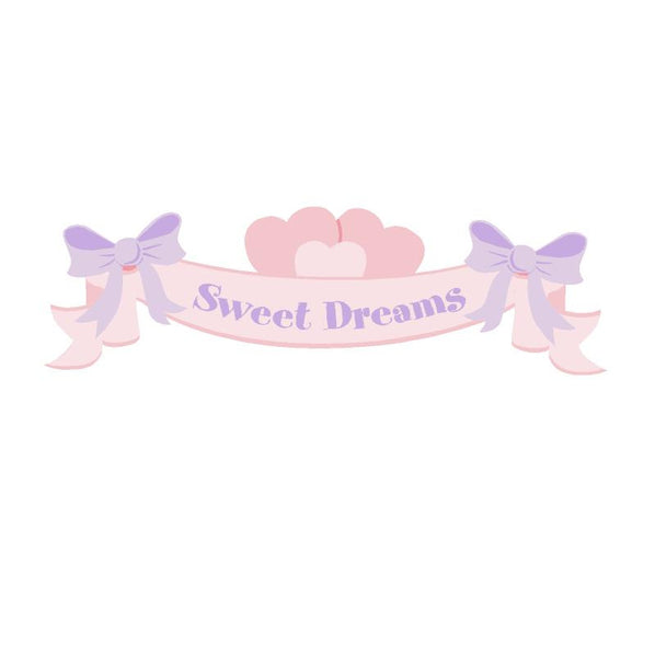 Mini Sweet Dreams Banner Mini Wall Mural