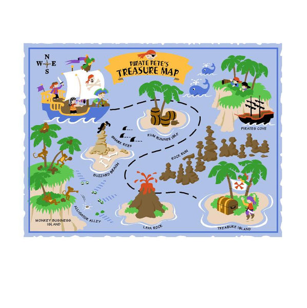 Pirate Pete's Treasure Map - SM Wall Mural